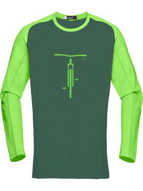 Norrøna M's Fjørå Equaliser Lightweight Long Sleeve Bamboo Green